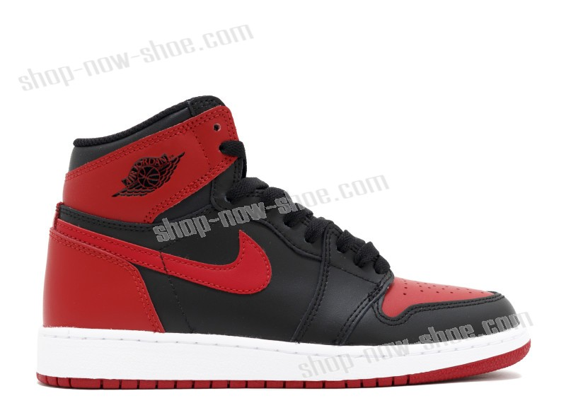 Air Jordan 1 Retro High Og Bg (Gs) 'Banned 2016 Release' At a Discount Of 45%  - Air Jordan 1 Retro High Og Bg (Gs) 'Banned 2016 Release' At a Discount Of 45%-01-0