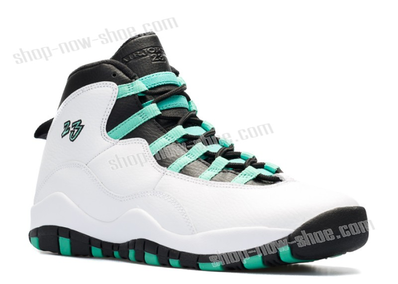 e5513b157271e7 Famous nike - the athletes s Air Jordan 10 Retro 30th Gg (Gs)  Verde ...