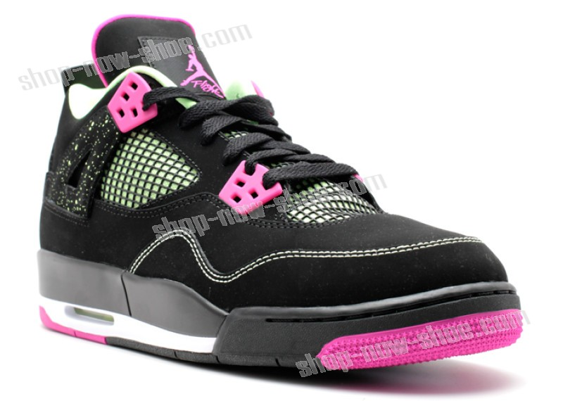 Air Jordan 4 Retro 30th Gg (Gs) 'Fuchsia' Of Nice Model  - Air Jordan 4 Retro 30th Gg (Gs) 'Fuchsia' Of Nice Model-01-1