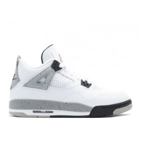 Air Jordan 4 Retro Og Bg (Gs) 'White Cement' With Discount 54%