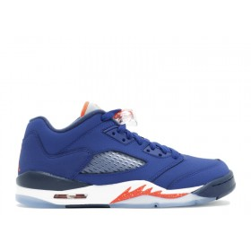 Air Jordan 5 Retro Low (Gs) 'Knicks' At a Discount