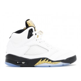 Air Jordan 5 Retro 'Olympic Gold' At a Discount Of